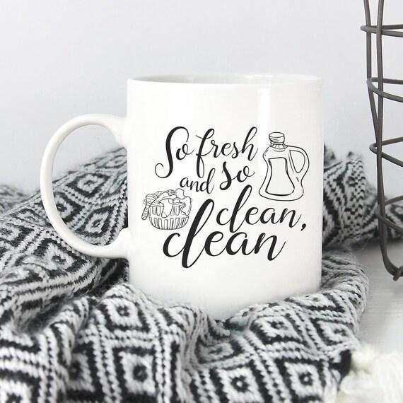 So Fresh and So Clean Clean Mug - Outkast - 90s Rap Mug - Andre 3000 - Song  Lyrics Mug - Funny Mug - Funny Christmas Gift Friend - Under 25