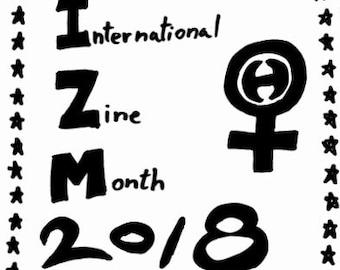 International Zine Month 2018 Zine
