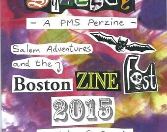 PMS Perzine issue 13 -  Salem Trip and Boston Zine Fest!