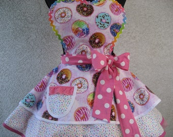 Donuts and Sprinkles Women's Apron
