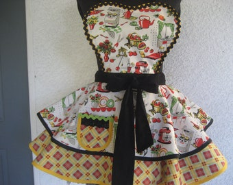 1950's Perfect Kitchen Retro Apron
