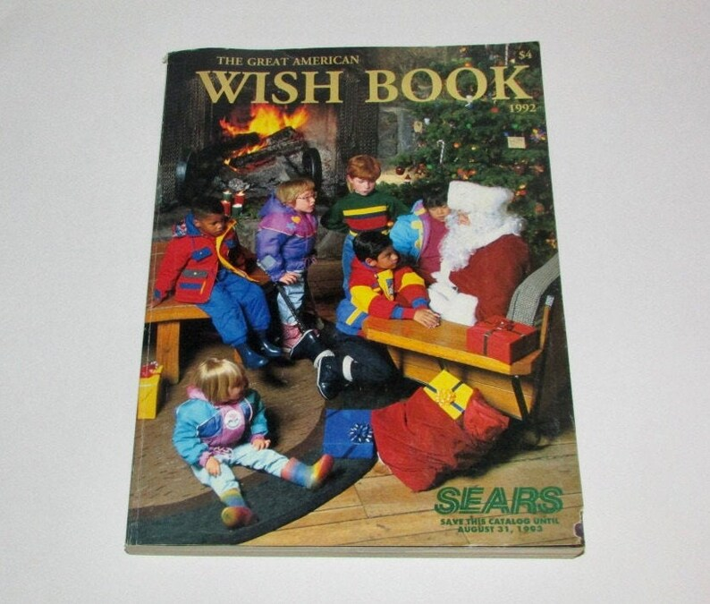 1992 Sears Wish Book Christmas Catalog 828 Page Reference   Etsy
