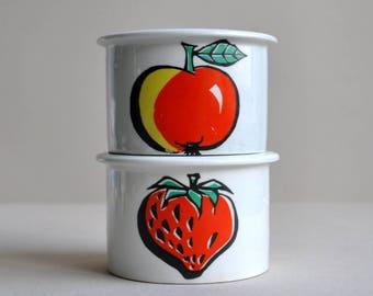 RARE Tutti Frutti Jar - Raija Uosikkinen - Arabia Finland