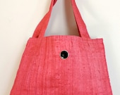 Pink Tote Bag - Fabric To...