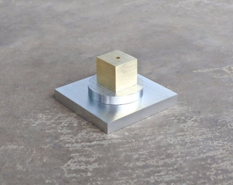 Encens porte métal objet d'Art minimaliste Art décoratif