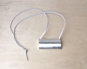 Minimalist Necklace Aluminum Necklace Contemporary Jewelry