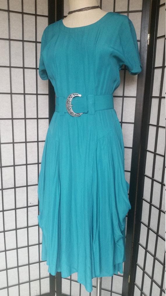 1980s Dress