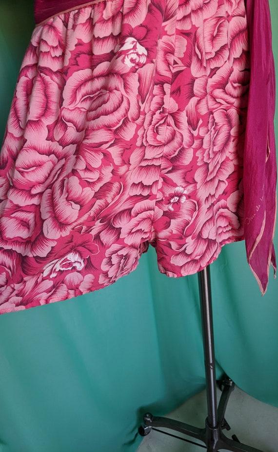 Floral in Pink Vintage Romper - image 3