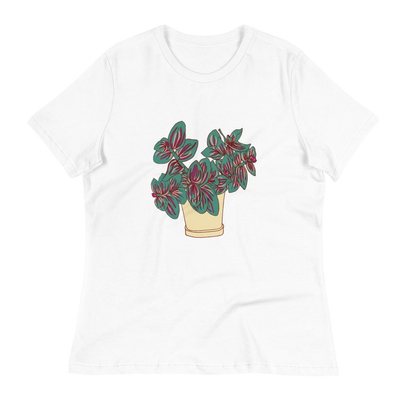 Plant Lover Tshirt Women/'s Plant T-Shirt House Plant Women/'s Relaxed T-Shirt