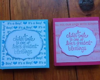 post it notes baby shower favors