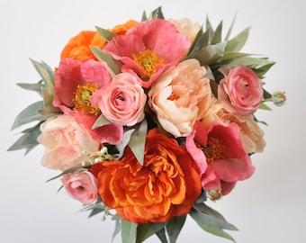 Wedding Bouquets Wedding Flowers Silk Von Hollysflowershoppe