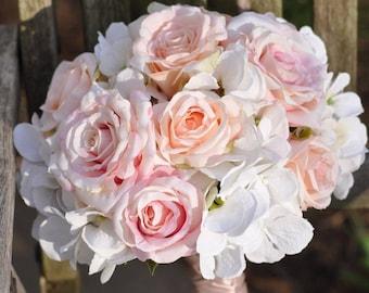 Wedding bouquets etsy wedding bouquet wedding flowers silk flowers bridal bouquet bouquet brides bouquet boho silk flowers flower bouquet blush bouquet mightylinksfo