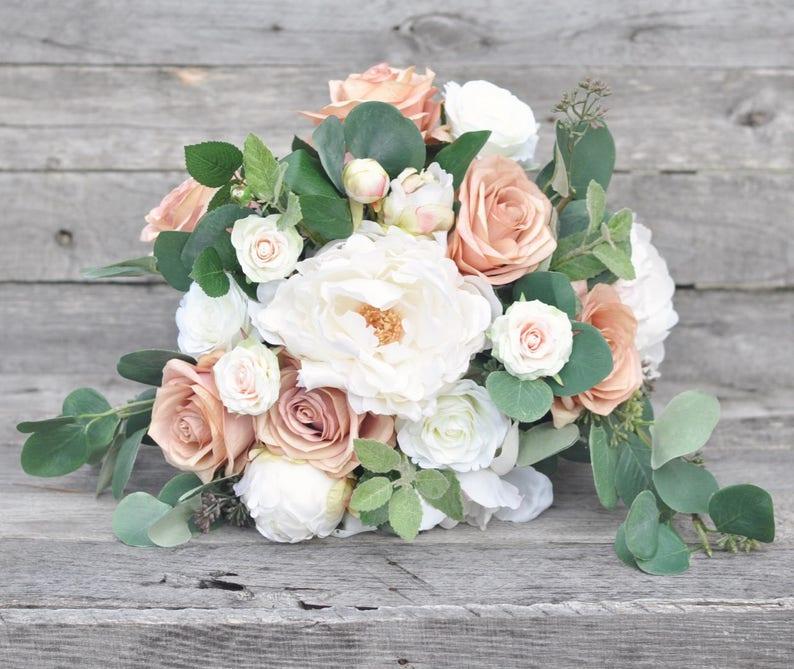 Artificial Silk Flowers Bride Flower Bouquet Boho Wedding Flowers Wedding Wedding Bouquet Bridal Bouquet Bridesmaid Bouquet Flowers