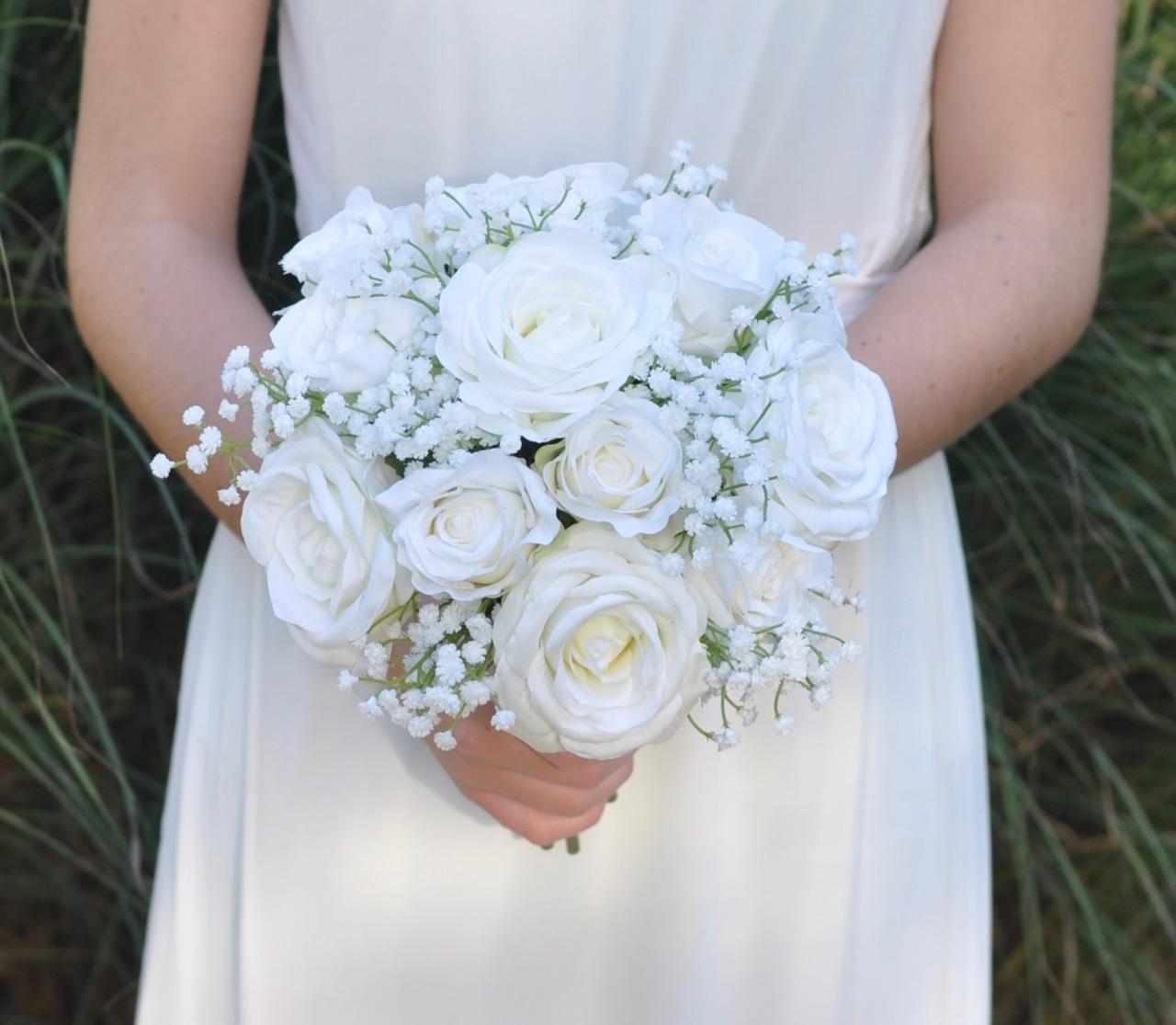 Wedding Flowers Wedding Bouquet Keepsake Bridal Bouquet Etsy