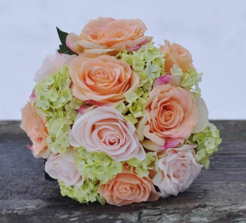 Brides Bouquet Wedding Flowers Boho Bouquet Silk Wedding Flowers Silk Flower Bouquet Bridal Bouquet Rose Bouquet Wedding Bouquet