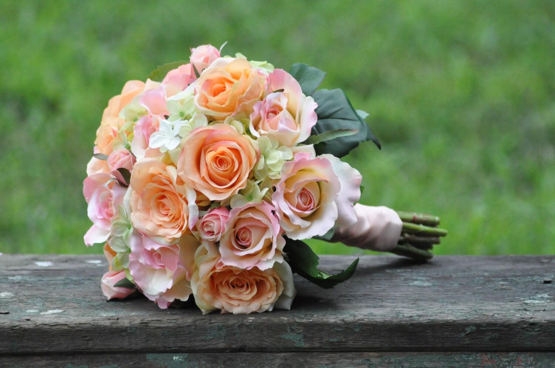 Seide Hochzeitsstrauß Hochzeitsstrauß Keepsake Bouquet