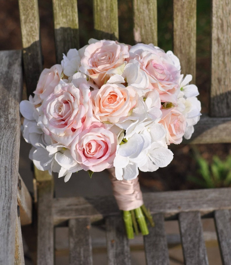 Wedding Bouquet Bridal Bouquet Fall Wedding Silk Flower image 0