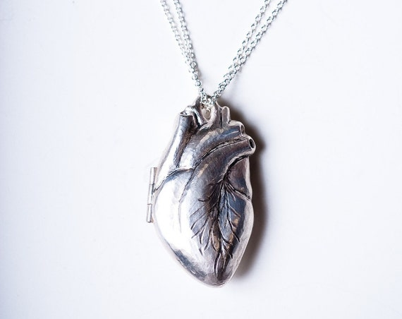 Anatomically Correct Heart Locket