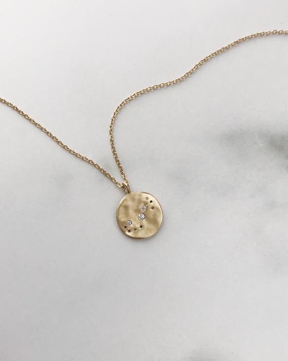 Small Zodiac Pendant