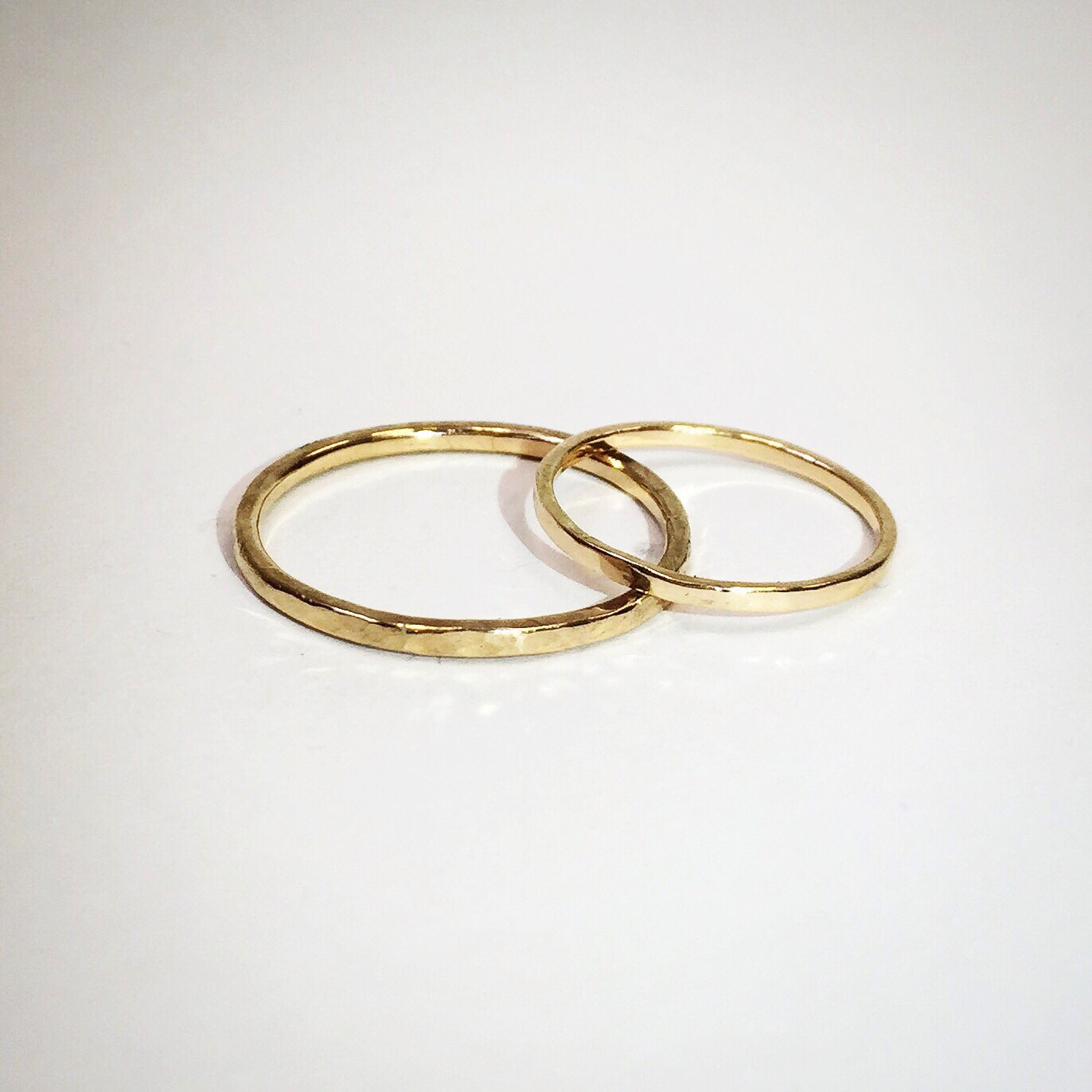 Gold Thread Stacking Ring