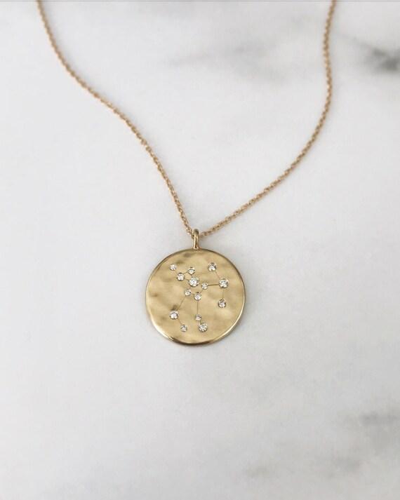 Large Zodiac Pendant