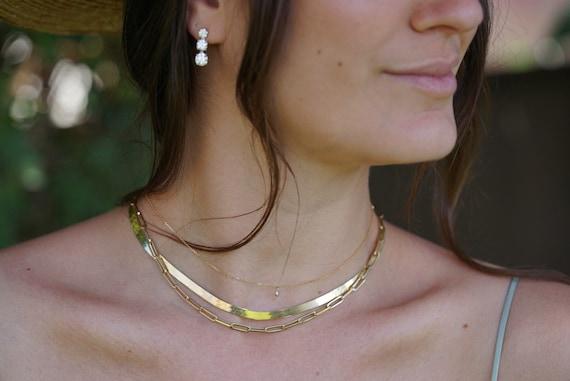 Wide Herringbone Chain