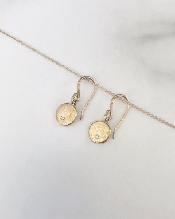 Moon Dance Dangle Earrings