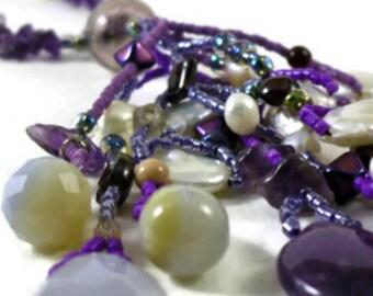 Purple Queen Necklace