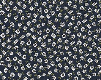 Jersey | printed | | daisies navy