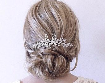 Wedding Hair Comb for Brides Bridesmaids Crystals Bridal Hair Accessories Womens