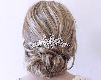 Bridal Hairpiece Grecian Bridal Hair Bridal Boho Hair Bridal Hair Comb Brass Bridal Hairpiece Bridal Hair Vine Bridal Olive Branch