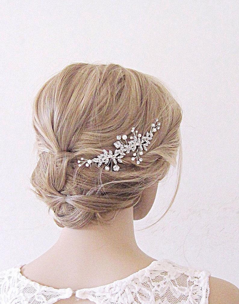 Bridal Hair Comb,Wedding Hair Comb,Crystal Hair Comb,Bridal Hair piece,Bridal Headpiece Pearl Hair Comb,wedding hair piece,bridal hair clip