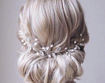 Bridal Headpiece , Pearl Hair Vine,  Wedding Headpiece,  Bridal Hair Vine, bridal headband