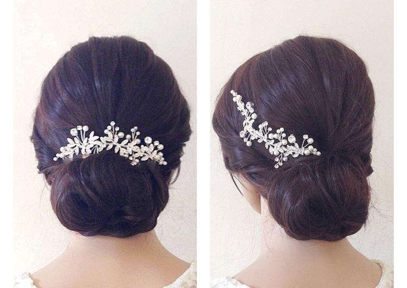 Bridal hair piecewedding hair piecebridal headpiecewedding image 0