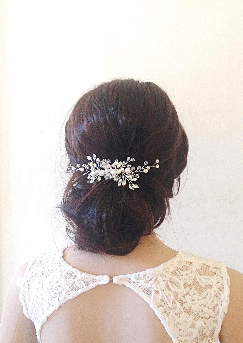 Bridal hair combwedding hair combbridal hair clipwedding image 0