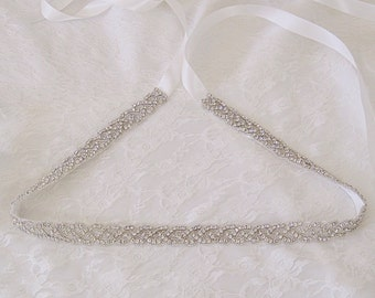 Bridal belt, bridal sash, wedding belt, wedding dress belt, all around bridal belt, bridal sash belt