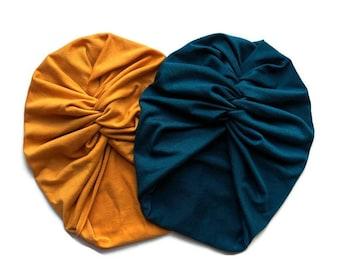 CLASSIC Turban Hat | Turban Women |  Baby Turban | Girls Turban | Baby Girl Turban | Turban | Chemo Headwear | Headwrap