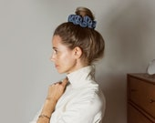 Velvet Scrunchie. Hair Scrunchie. Velvet Hair Tie. Hair Elastic. Hair Ties. Hair Accessories.