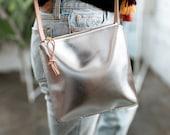 ALYSSA Leather Crossbody Purse.  Brown Leather Purse. Brown Leather Bag. Leather Cross body Purse. Brown Leather Crossbody Bag