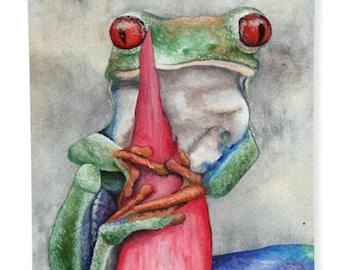 Tree Frog Towel
