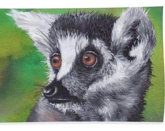 Lemur Beach Towel