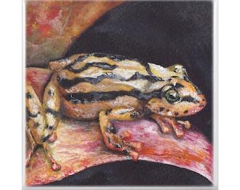 Trivet: Yellow Dart Frog