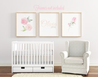 baby girl nursery etsy
