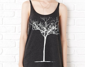 Tank Top, Tree, Winter Tree, Summer Shirt, Tree of Life