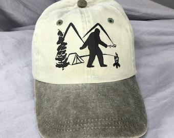 Sasquatch Camping.
