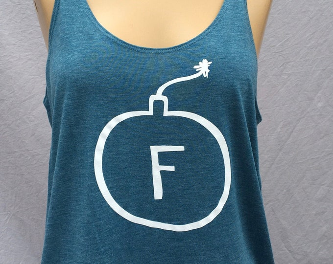 F-Bomb, Tank Top, Funny, Cute
