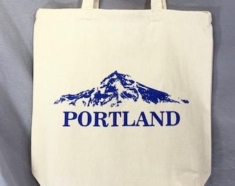 Mt. Hood, Mt. WyEast, Portland Tote Bag