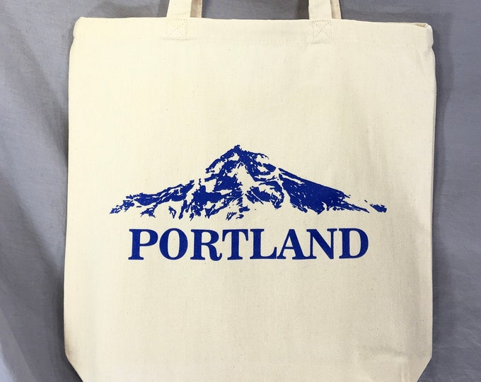 Mt. Hood, Mt. WyEast, Portland Tote Bag