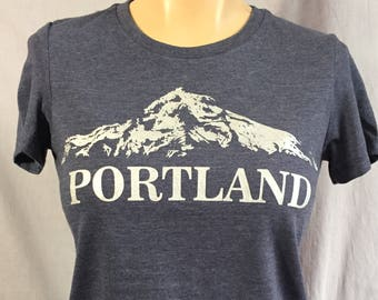 Woman's Portland T-Shirt, Mt. Hood, Mt. Wy'East
