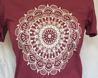 Woman's Style Mandala by Travis!  The Universe Flowers, Sacred Art